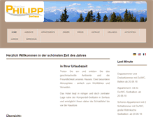 Tablet Preview of hotelphilipp.at